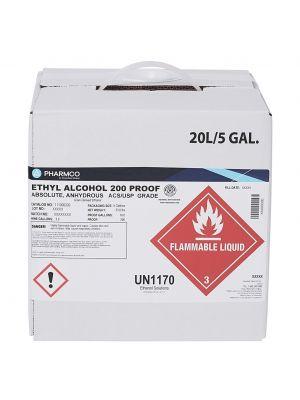 Ethanol 200 Prf, 5 Gl Cube
