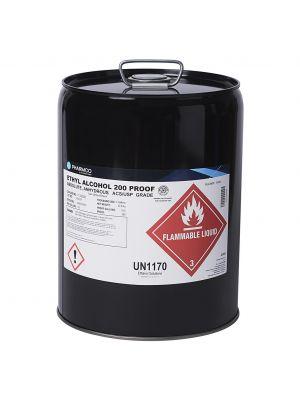 Ethanol 200 Prf, 5 Gl Mtl Pail