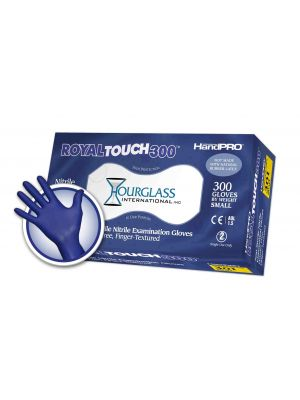 RoyalTouch300 Nitrile Exam Gloves Small