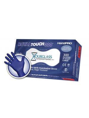 RoyalTouch300 Nitrile Exam Gloves Large