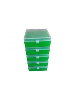 Argos PolarSafe™ 100 Place Cryo Storage Box - Green - ARG R3127
