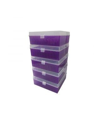 Argos PolarSafe™ 100 Place Cryo Storage Box - Purple - ARG R3129