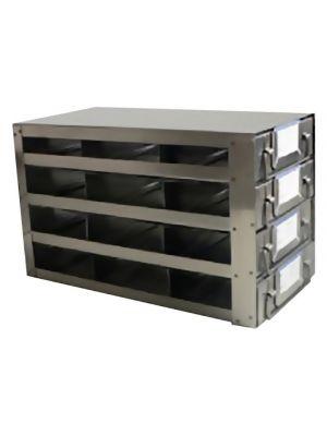 Argos PolarSafe™ 12 Box Freezer Rack Drawer   - Stainless Steel - ARG RDS10026A