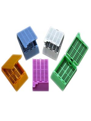 Tissue Cassettes with Attached Lids