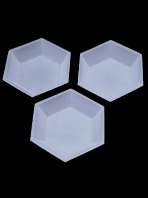 Aquafill Medium Hexagonal Weigh Boat