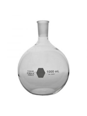Flat Bottom Short Neck Boiling Flasks with Standard Tapered 24/40 Joint KIMAX®