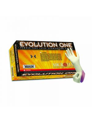 Microflex Evolution One® Latex Powder-Free Standard Examination Gloves