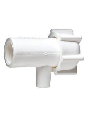 LDPE Needle Spigot - 1.12in x 12 female screw thread - 6421-0010