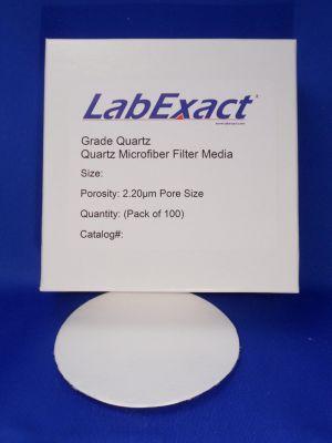 Quartz microfiber 2.2um High purity binderless SiO2 High temp filter