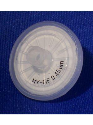 Nylon Tri-Layer Syringe Filters  GF/PP prefilter Non Sterile