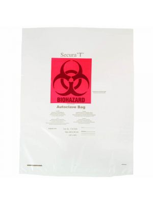 Clear Superior Strength Autoclavable Biohazard Bags