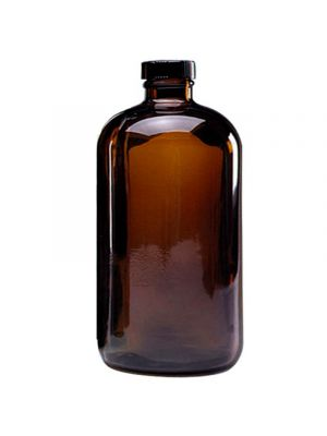 Amber Glass Safety Coated Bottles